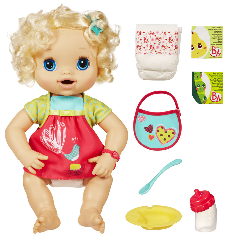Baby alive my baby alive caucasian