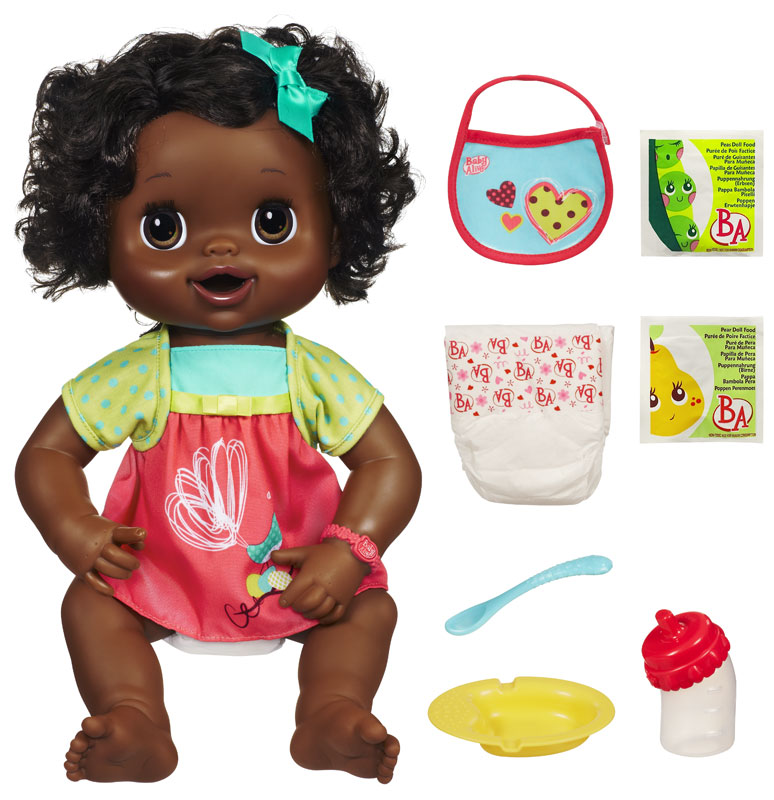 Amazon.com: Baby Alive My Baby Alive - African American: Toys & Games