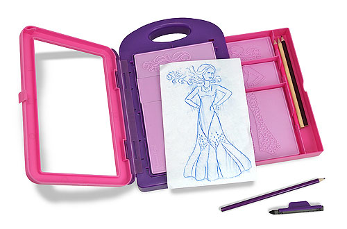 Barbie Fashion Plates Rubbing Melissa amp Doug Fashion