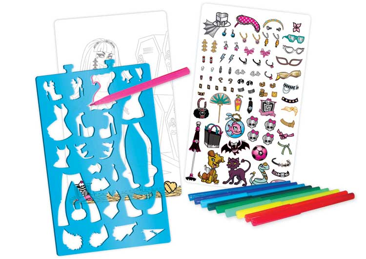 Monster High Fashion Designers Eighty