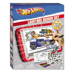 Hot Wheels Car Design Light Box Set Product Shot