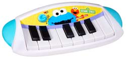 SESAME STREET LET'S ROCK! COOKIE MONSTER KEYBOARD Product Shot