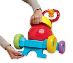 PLAYSKOOL POPPIN' PARK  BOUNCE 'N RIDE Product Shot
