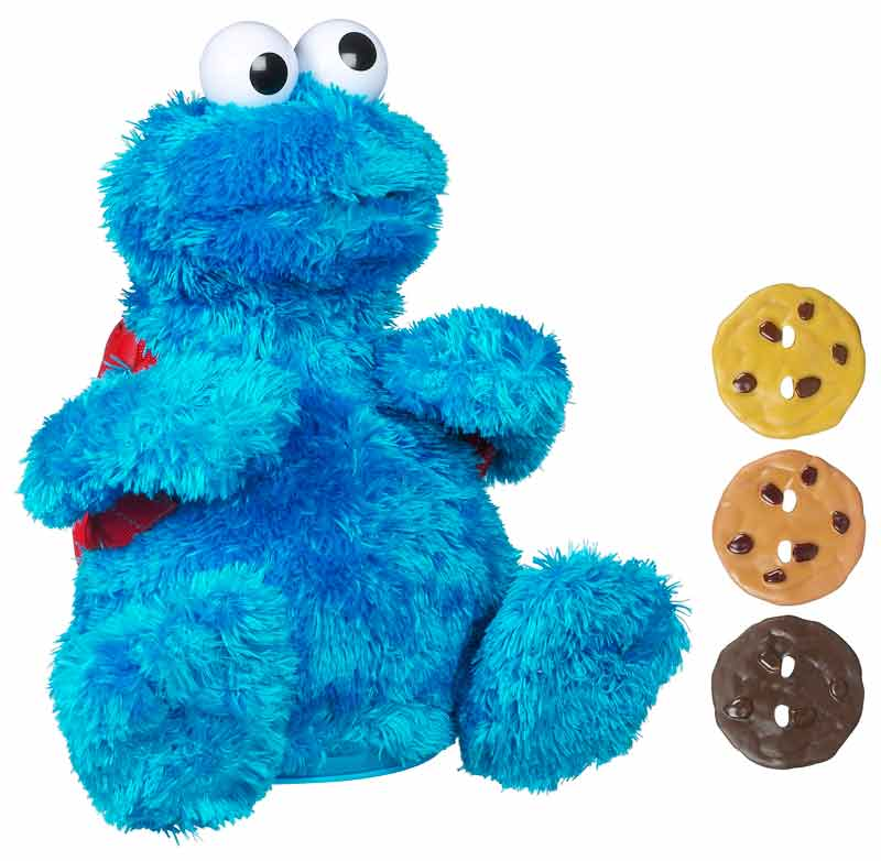 Amazon.com: Sesame Street Count And Crunch Cookie Monster