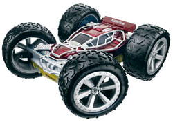TONKA XT RICOCHET STUNT PRO R/C VEHICLE - Yellow/Red Product Shot