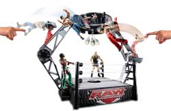WWE Colossal Crashdown Arena Playset