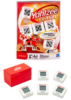 Electronic YAHTZEE FLASH Product Shot