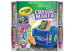Crayola Crayon Maker with Studio Story
