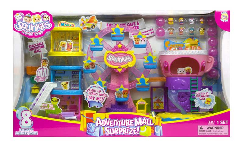 Amazon.com: Blip Toys Squinkies Adventure Mall Surprize: Toys & Games