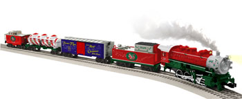 Santa's Flyer O-Gauge Train Set Product Shot
