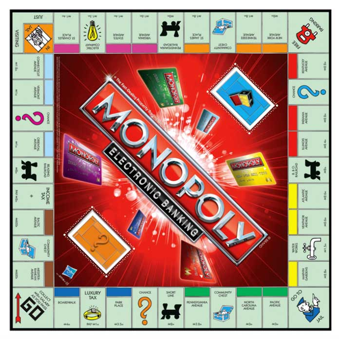 Amazon.com: Monopoly Electronic Banking: Toys & Games