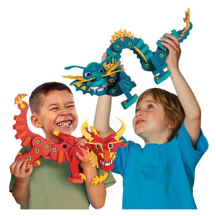 up your children's imagination with Aqua & Pyro Dragons. View larger