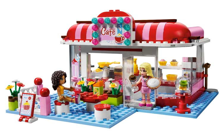 Amazon.com: LEGO Friends City Park Cafe 3061: Toys & Games