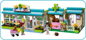 LEGO Friends Heartlake Vet