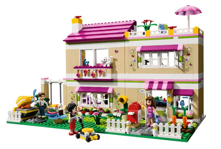 Toys For Friends : Lego friends olivia s house