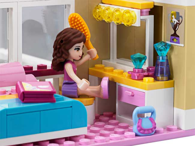 Lego friends olivia 39 s house for Kitchen set for 10 year old