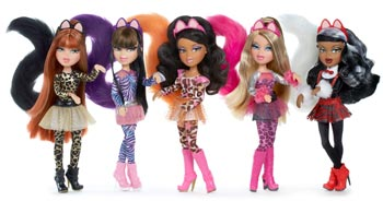 Amazon.com: Bratz Catz Doll - Cloe: Toys & Games