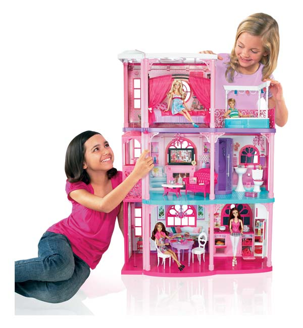 Toys: Barbie 3-Story Dream Townhouse