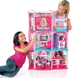 Barbie 3 Story Dream Townhouse Toys Games