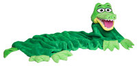 CuddleUppets Green Crocodile