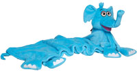 CuddleUppets Blue Elephant