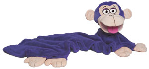 CuddleUppets Purple Monkey