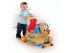 Fisher Price Laugh & Learn Stride-to-Ride Puppy