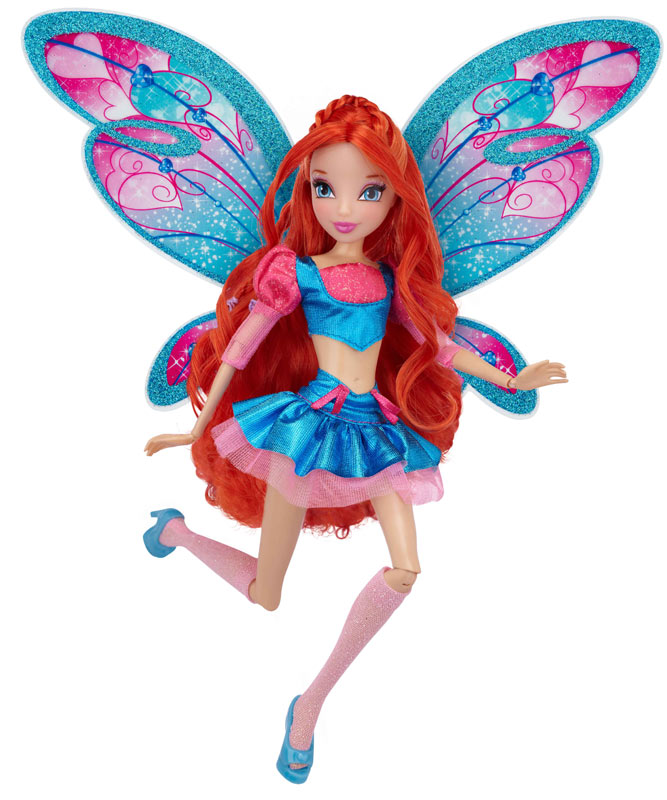 "Amazon.com: Winx 11.5"" Fashion Doll Believix - Bloom: Toys & Games"