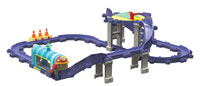 Tomy Chuggington Die Cast Wilsons Wild Ride Deluxe Action Playset