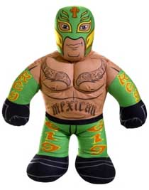 WWE Brawlin' Buddies Rey Mysterio Plush Figure