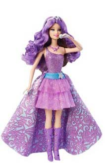 BARBIE SThe Princess and The Popstar Keira Doll