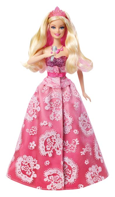 Amazon.com: Barbie The Princess & the Popstar 2-in-1 ...
