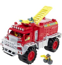 MATCHBOX BIG BOOTS BLAZE BRIGADE Vehicle