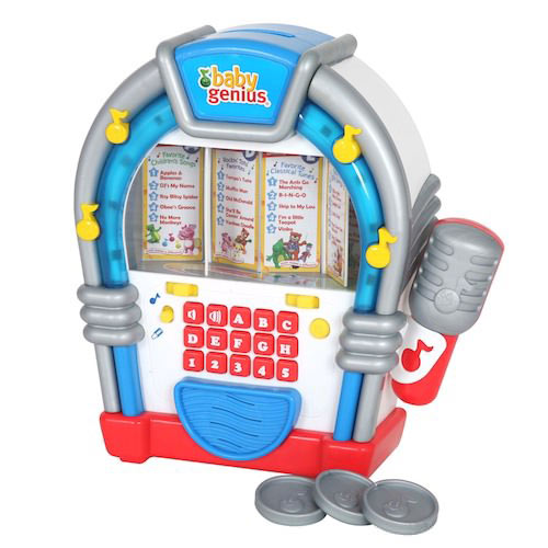 Amazon.com: Baby Genius Be-a-Star Sing-Along Jukebox: Toys & Games