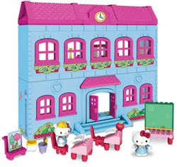 Mega Bloks Hello Kitty Schoolhouse