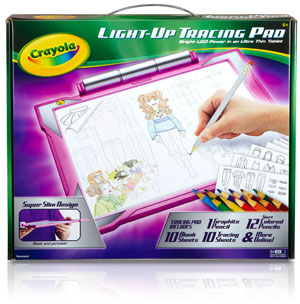 Crayola Light Up Tracing Desk Product Shot