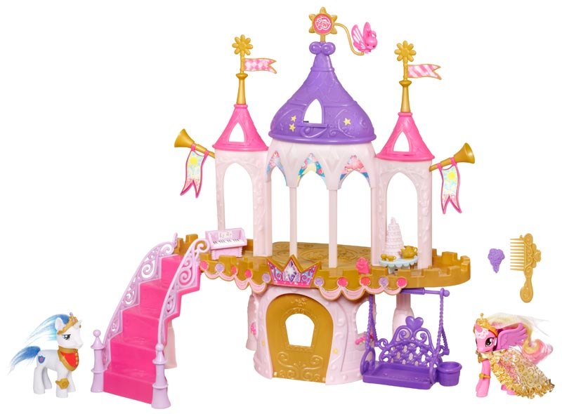 Amazon.com: My Little Pony Princess Wedding Castle: Toys