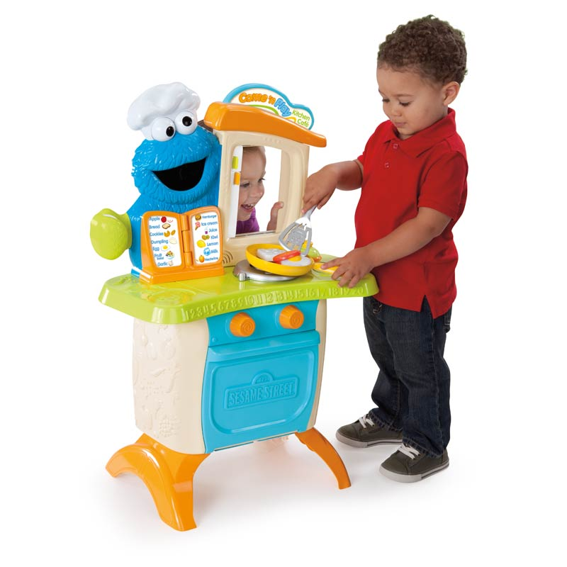 playskool sesame street come 39 n play cookie