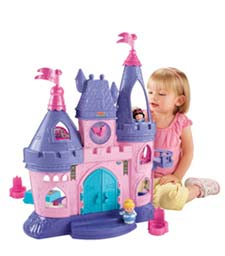 Fisher-Price Little People Disney Princess Songs Palace