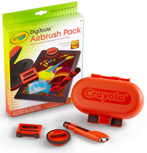 Crayola DigiTools Airbrush Pack Product Shot