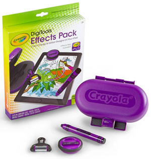 Crayola DigiTools Effects Pack Product Shot