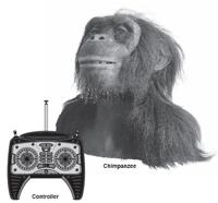 Wowwee Alive Chimpanzee with controller
