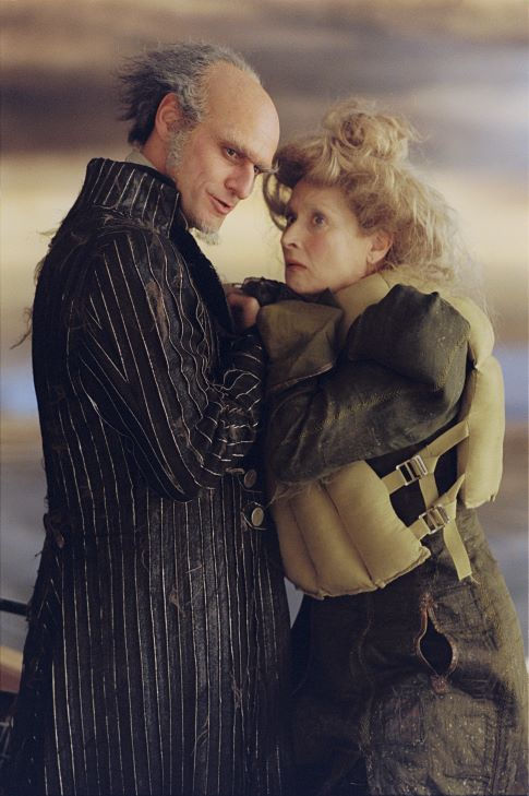 Count Olaf and Aunt Josephine