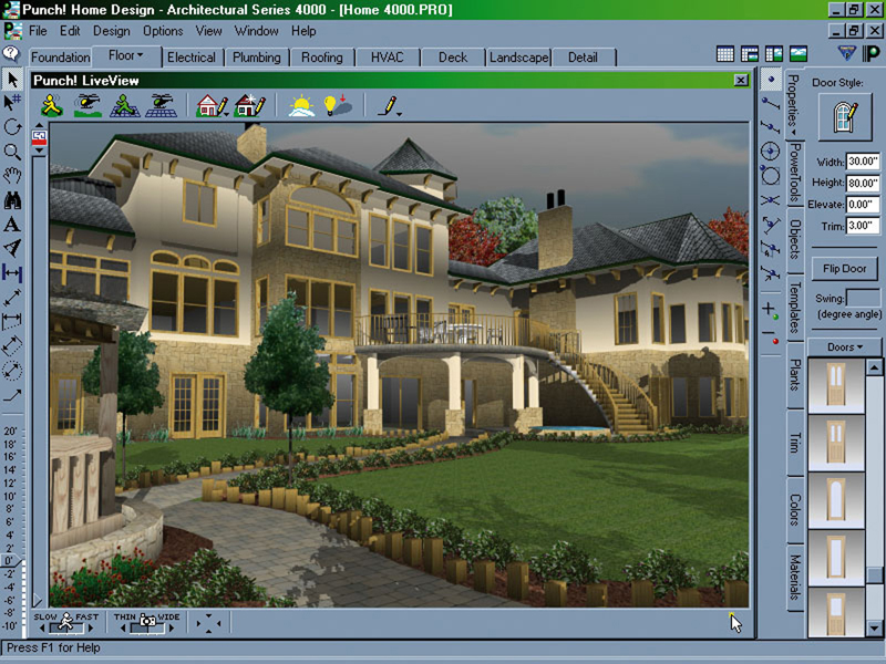 Punch Home Design Software