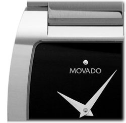 Made From Ultra Durable Tungsten Carbide, The Sleekly Designed Fiero Swiss  Quartz Watch Out For Men Features Movadou0027s Utterly Recognizable, Minimalist  Look ...