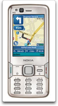 Nokia N82 Unlocked Smartphone with 5 MP Camera, 3G, Wi-Fi, GPS, MP3