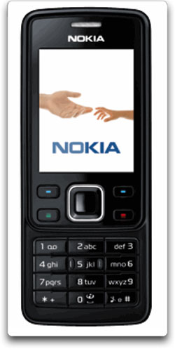 Nokia 6300 Unlocked Cell Phone with 2 MP Camera, MP3/Video Player ...