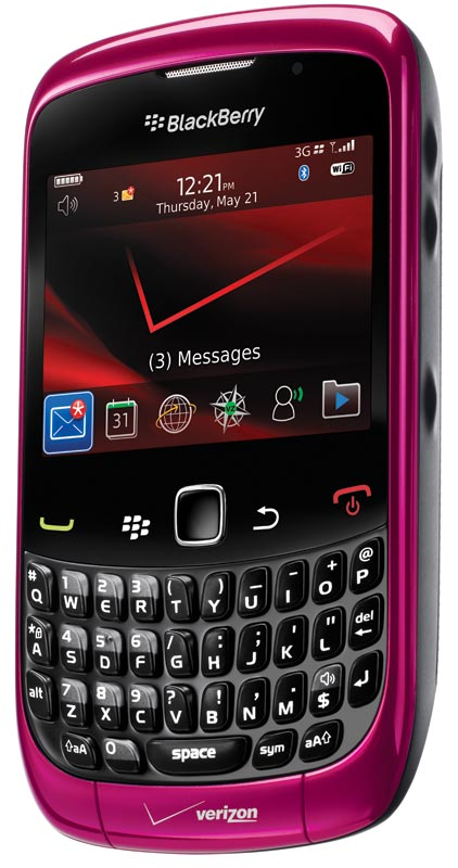 Balance your busy life at work and home with the BlackBerry Curve 3G (see