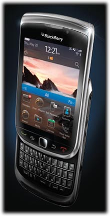 BlackBerry Torch 9800 Phone (AT&T)