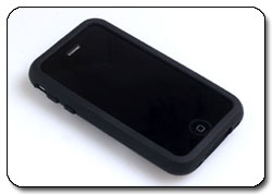 Krypton Flex Case (Black1) for iPhone 3G and 3GS